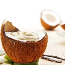 Crème coco pépites de chocolat sans gluten